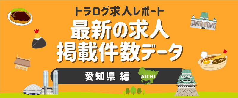 【愛知編】トラログ求人レポート/2021年5月第1週の求人広告掲載件数推移