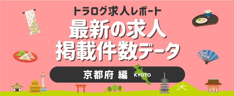 【京都編】トラログ求人レポート/2021年7月第2週の求人広告掲載件数推移