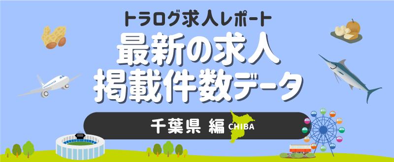 【千葉編】トラログ求人レポート/2021年5月第1週の求人広告掲載件数推移
